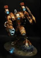 Armadura de combate XV104 Cataclismo