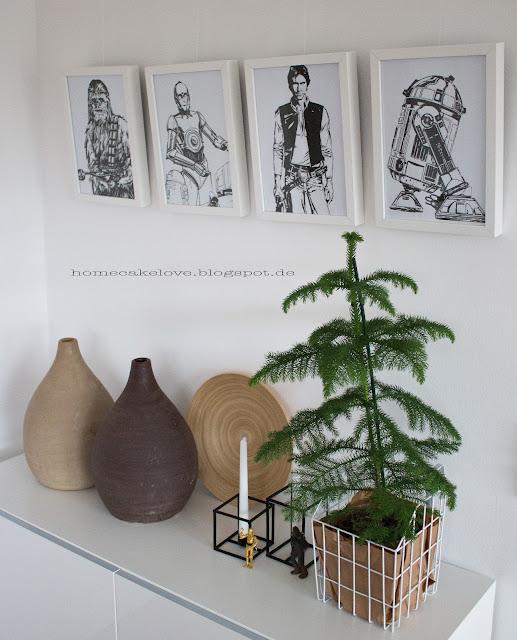 Ikea Vasen , im Esszimmer dekorieren, Star Wars Dekoration, Zimmertanne von Ikea
