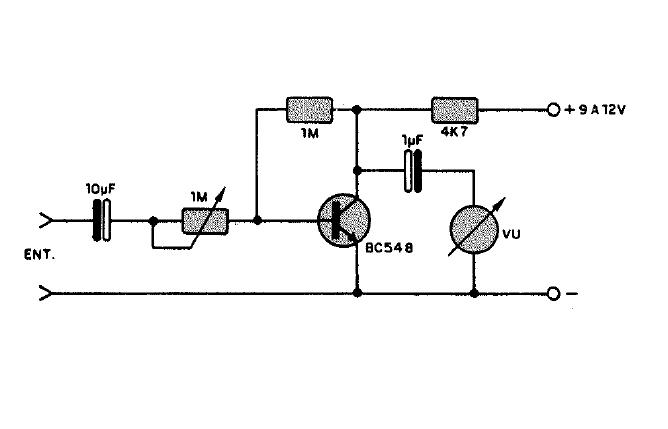 Circuito Vumetro : Electronica proyectos circuito vúmetro analógico