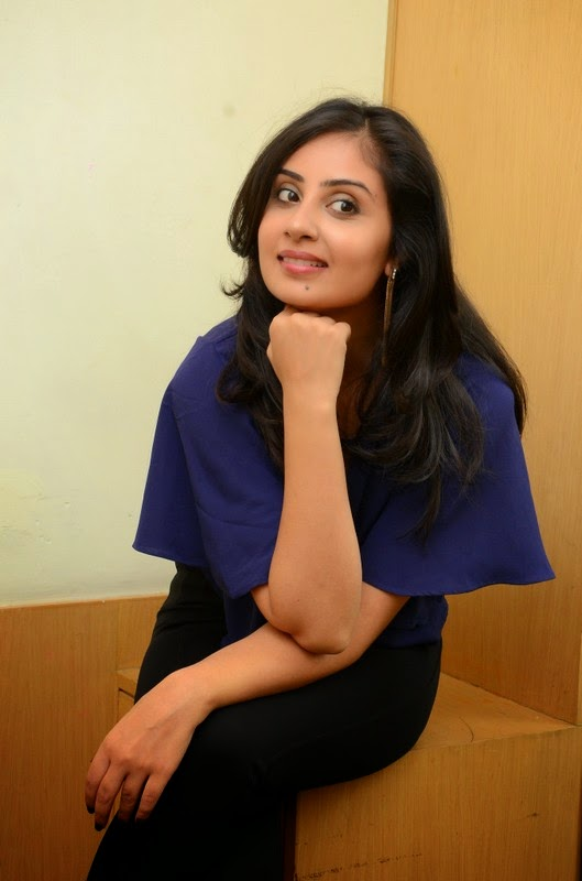 Bhanu Sri Mehra Latest Pics In Blue Dress