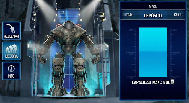 Mejora del Depósito de Prometheus a su máxima capacidad en World at Arms
