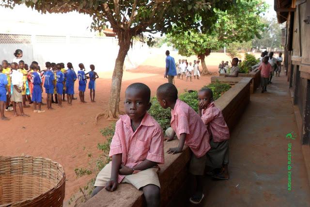Bambini africani a scuola, Togo