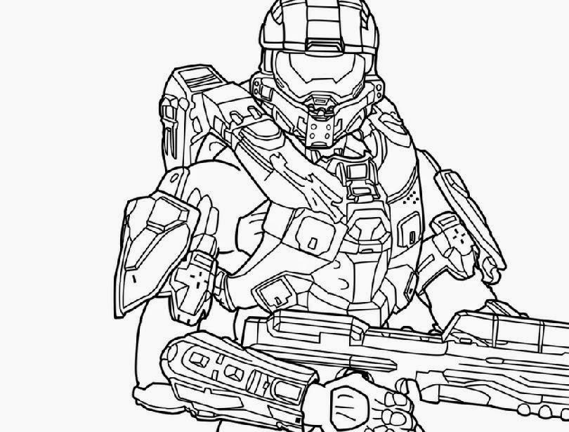 Free Coloring Pages Of Halo 5 Halo 5 Coloring Pages