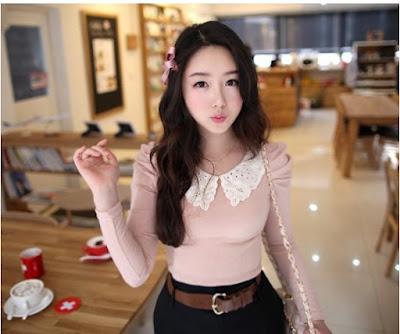 Baju Cewek Cute Pink