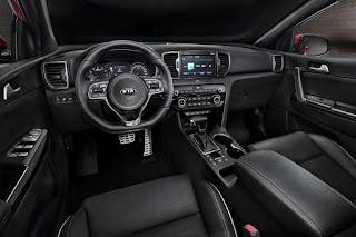Kia Sportage (2016) Dashboard