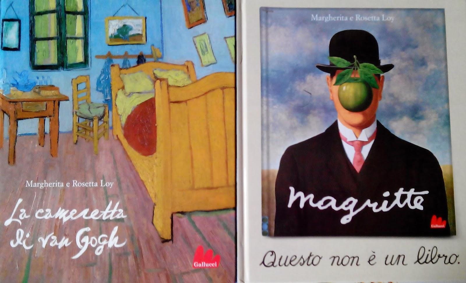 Bambini e arte la cameretta di van gogh e magritte questo non un libro figli moderni - Quadri per camera bambini ...