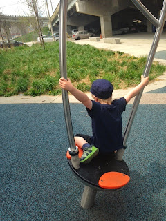 spinner, playground underpass park