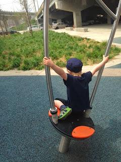 spinner, playground underpass park