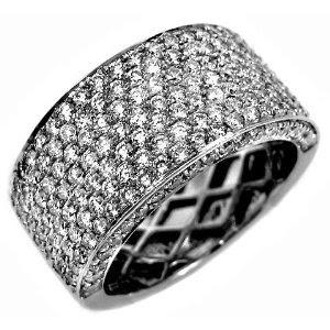 Pave Diamond Rings id=