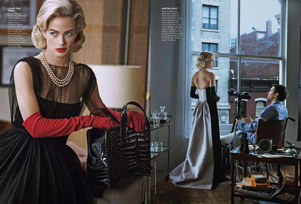 Carolyn Murphy and Tobey Maguire by Peter Lindbergh for Vogue US (April 2013)   Ses Rêveries