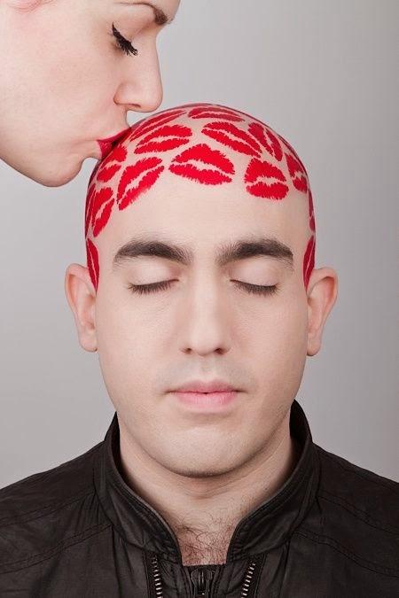 Cute Philip Levine's head designs