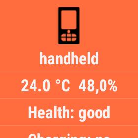 wearable monitor temperature