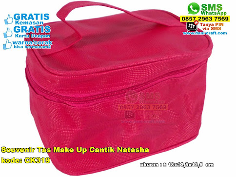 Souvenir Tas Make Up Cantik Natasha