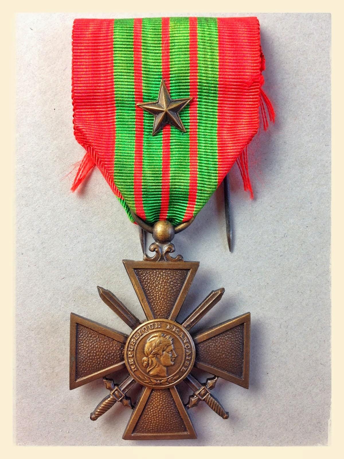 Croix de guerre WWII