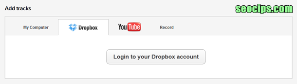 login to Dropbox Accunt