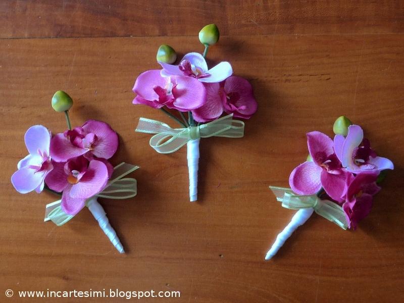 Amato Incartesimi: Coroncina e bracciale di fiori per damigelle  ZP94