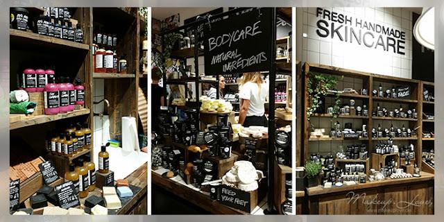LUSH store berlin Friedrichstraße Wiedereröffnung