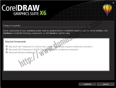 install corel draw x6