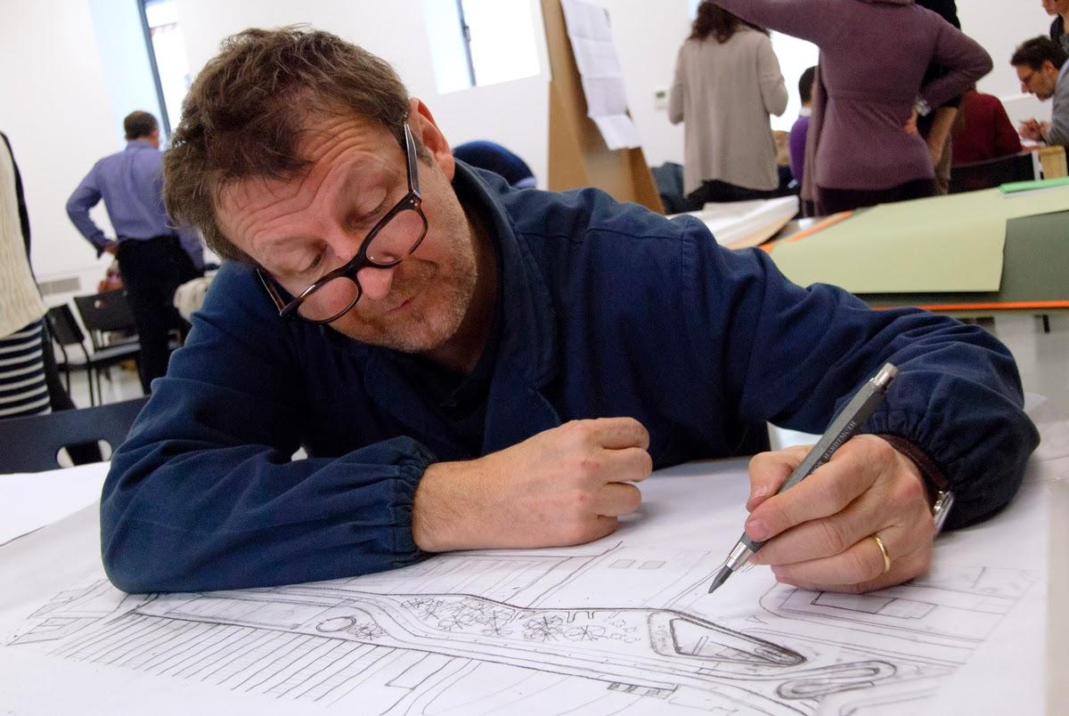 Spazio libero l 39 architetto regista cino zucchi for Lavoro architetto milano