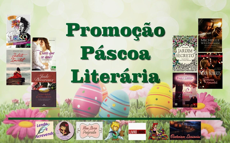 Promoção Páscoa Literária