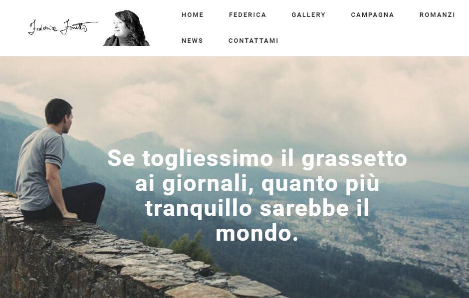 Il mio nuovo sito e #noiciamiamo