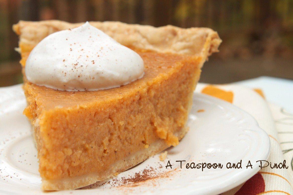 Teaspoon and A Pinch: Sweet Potato Pie