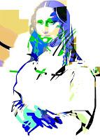 Мона Лиза Postmodern