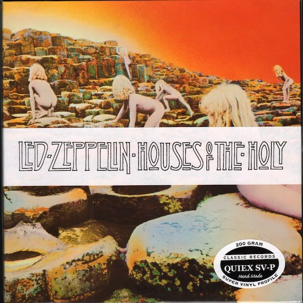 the album s core feel an invitation into the houses of the holy really    Houses Of The Holy Album Cover