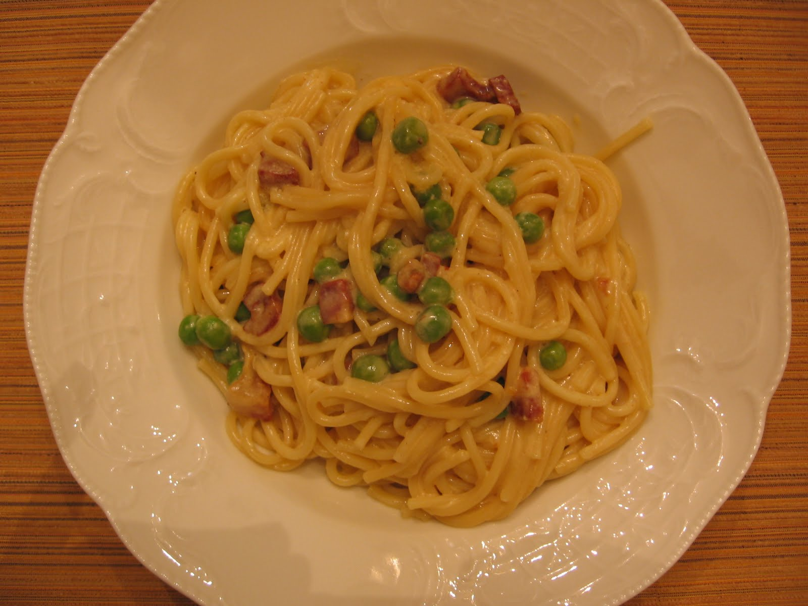 Recipe: Spaghetti Carbonara
