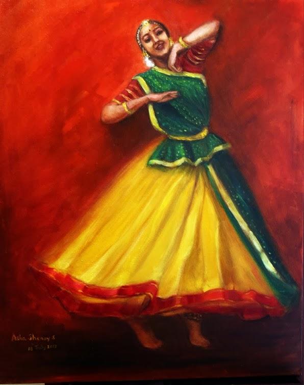"""An Artist At Bangalore: My paintings at """"Laya"""" the Group ..."""