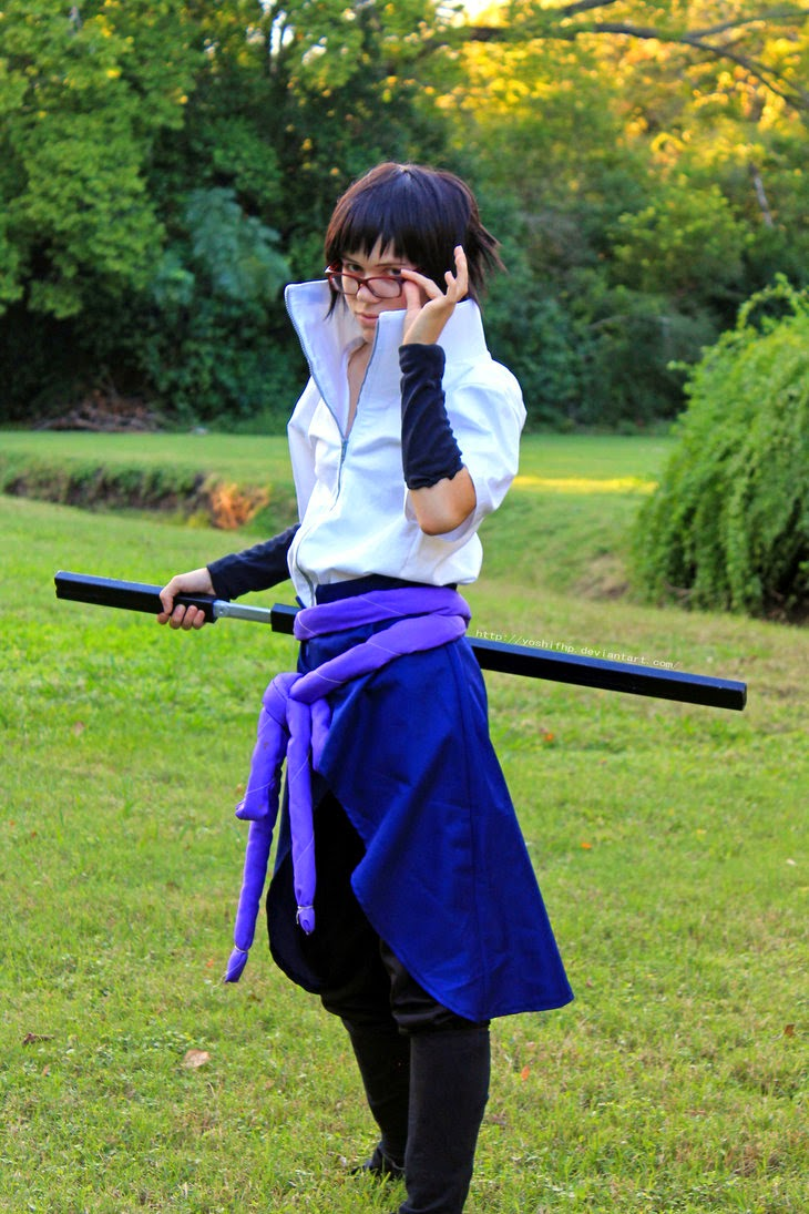 Sasuke Glasses Cosplau