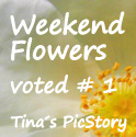 Weekend Flowers Voted No. 1