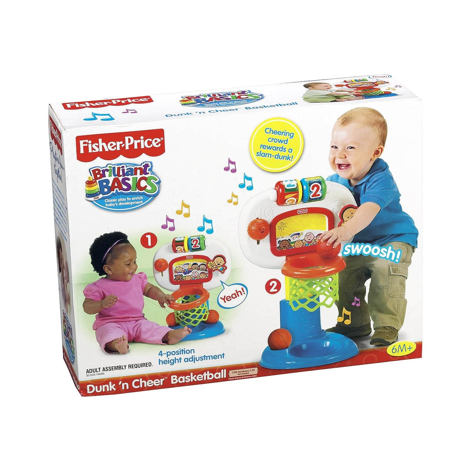 Toys For Cheerleaders : Joys of toy baby stuff new fisher price dunk n