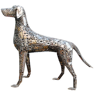Brian Monk Escultura Perros