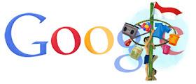 Google Ikut Rayakan Kemerdekaan Indonesia [ www.BlogApaAja.com ]