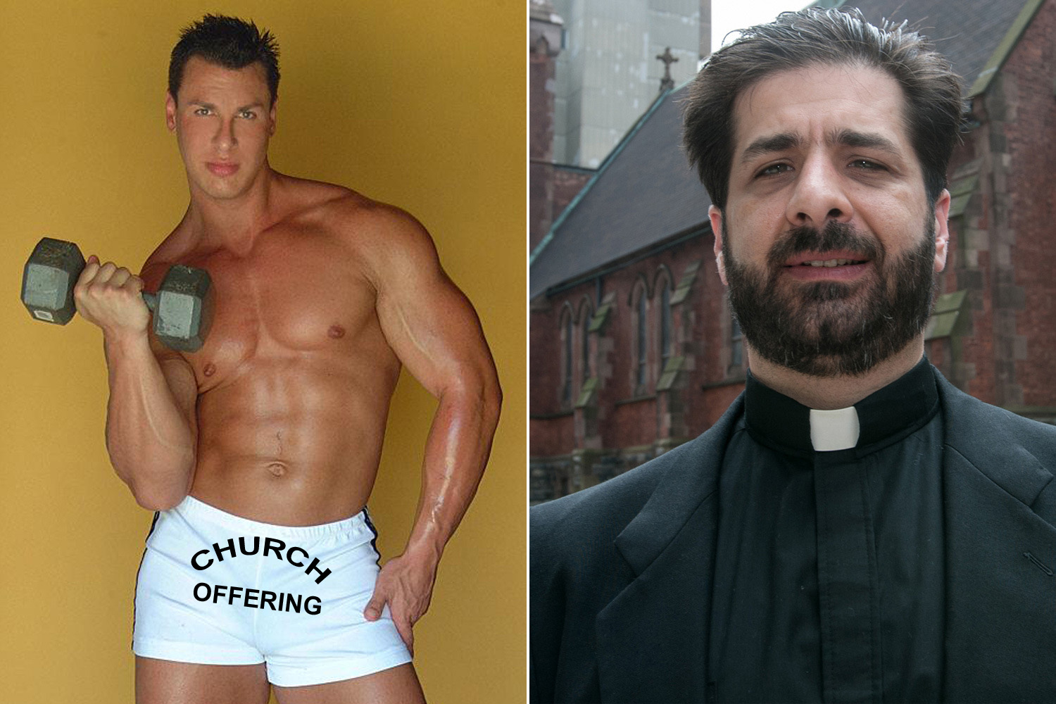 Homosexual priests erotic picture