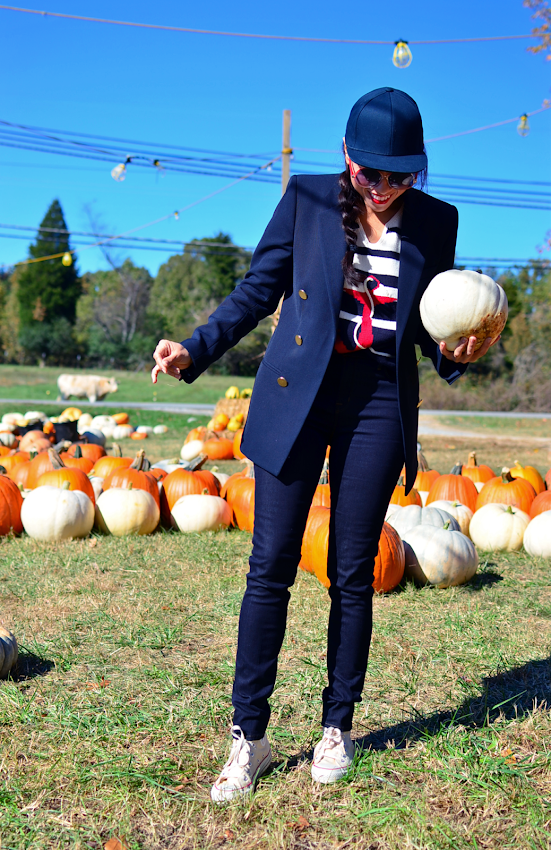 What to wear to a pumpkin patch