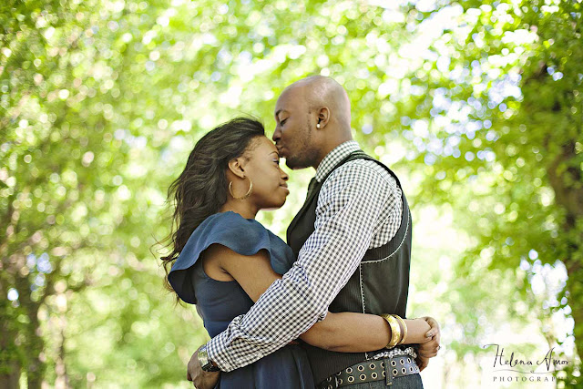 London engagement photoshoot in the park