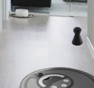 robot aspiradores con barrera virtual y sensores 3d