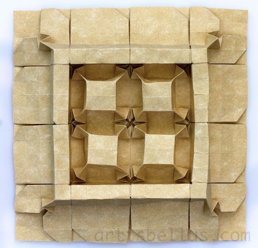 Cubes And Walls Origami Tessellations Origami Artis Bellus