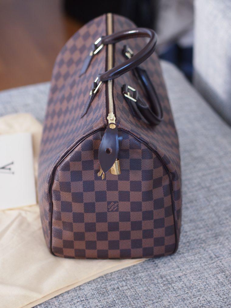 Myydään Vuitton Laukku : Myyd??n louis vuitton speedy damier ebene lindsay s