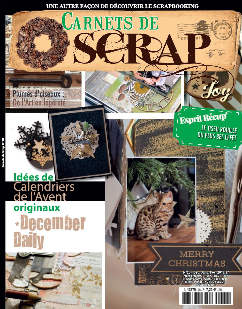Carnets de Scrap 28