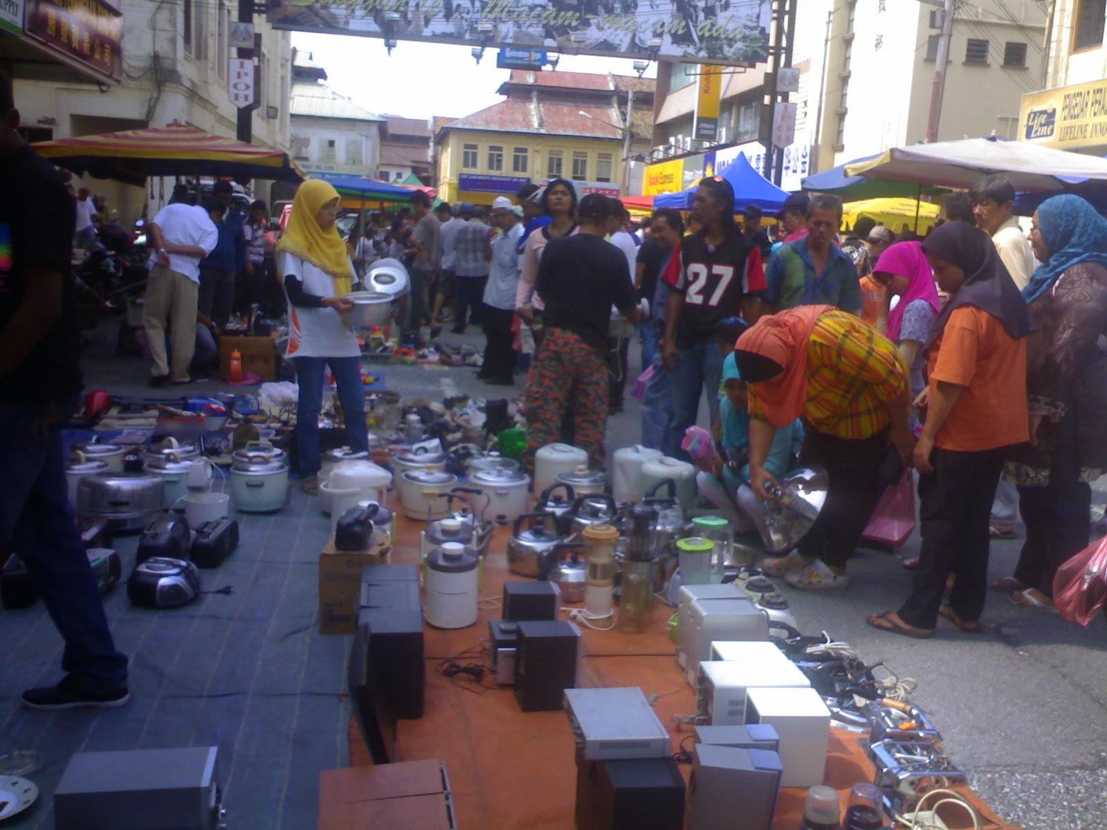 gambar wisata di ipoh perak pasar pagi