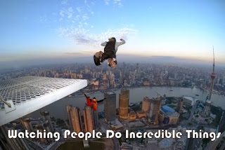 Parachuting from great heights