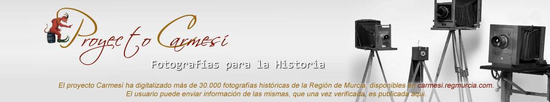 Fotografías para la historia. Proyecto Carmesí.