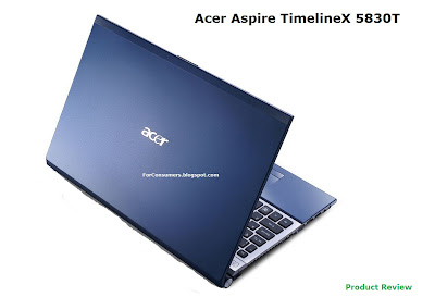 Acer Aspire TimelineX 5830T laptop review