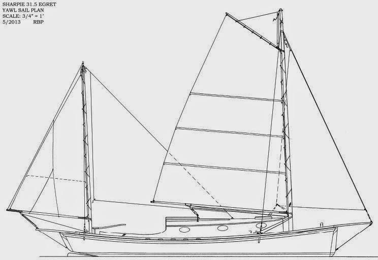 Building Reuel Parker's 31.5 Egret Yawl