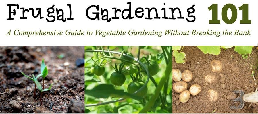 Frugal Gardening 101