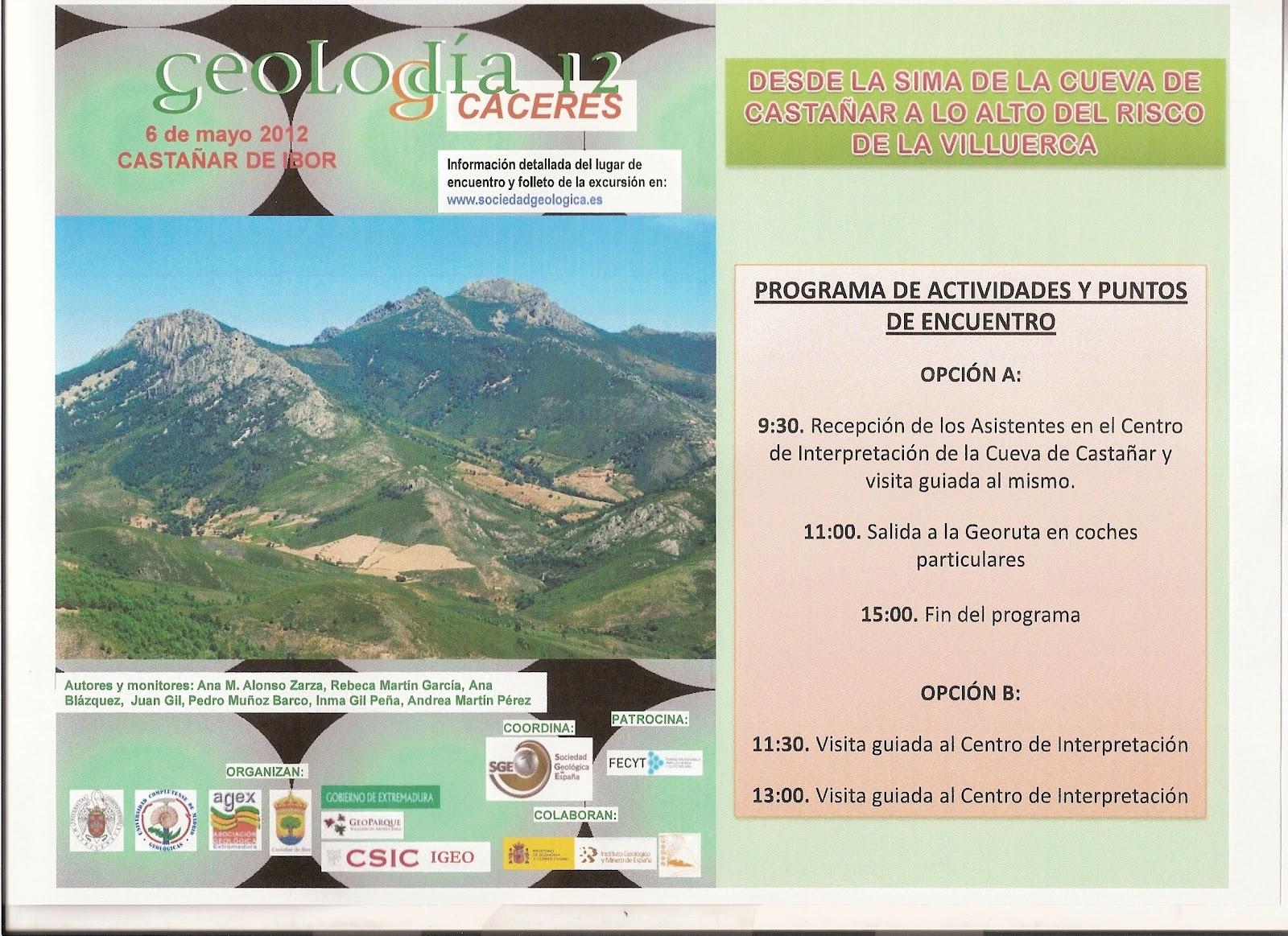 Bienvenidos a la oficina de turismo de guadalupe geolod a de c ceres 2012 - Oficina turismo caceres ...