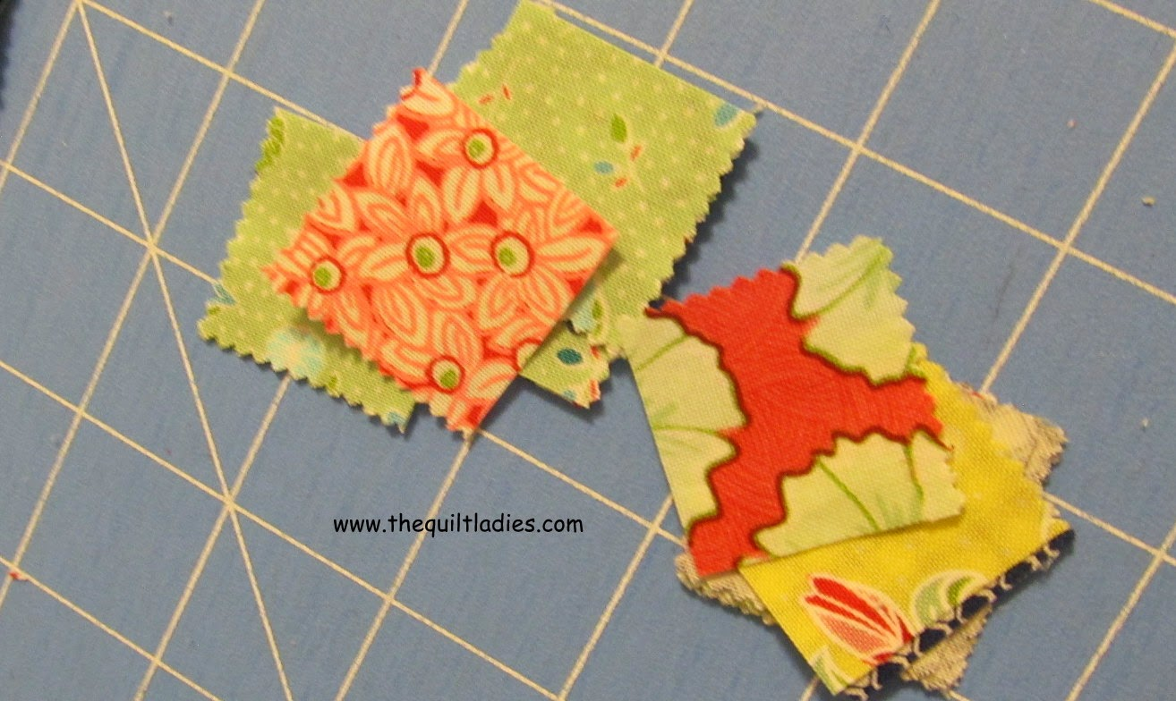 How to make a 9-Patch Table Topper Pattern and Tutorial